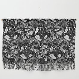 Black Snakes Wall Hanging