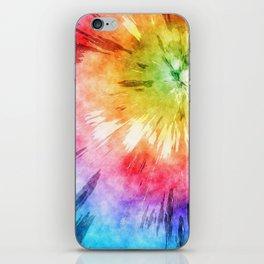 Tie Dye Watercolor iPhone Skin