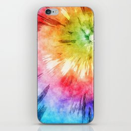 Tie Dye Watercolor iPhone Skin