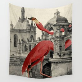 NUMBER 17 (FLAMINGO) Wall Tapestry