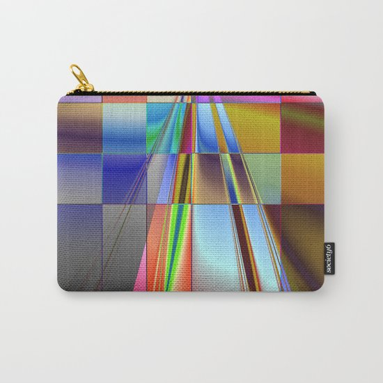highway to rectangular city Carry-All Pouch