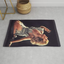 Fay Wray, Vintage Actress Rug