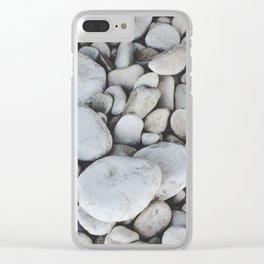 Limestone Beach Clear iPhone Case
