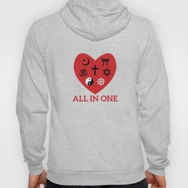 All in one Hoody