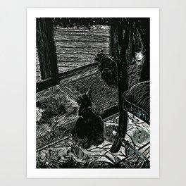Vincent & Julie Art Print
