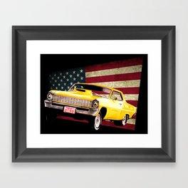 Chevy Nova 67 Framed Art Print