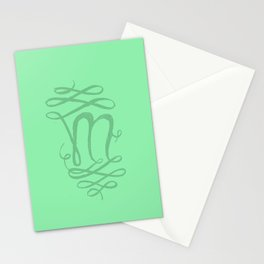 The Letter M Stationery Cards