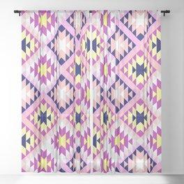 Aztec 3 Warm Sheer Curtain