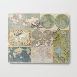 Flight Patterns Metal Print