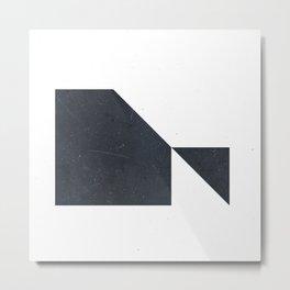 #005 White Metal Print
