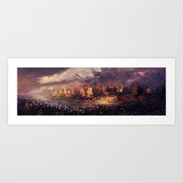 Ruins of Jerusalem Art Print