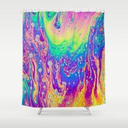 Soap 01 Color  Shower Curtain