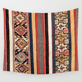 Salé  Antique Morocco North African Flatweave Rug Print Wall Tapestry