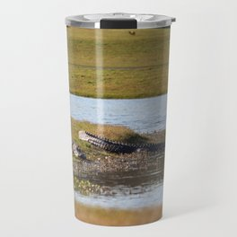 Wildlife At The Golf Course Travel Mug