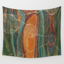 Lively Synapses (Amplified Current) Wall Tapestry