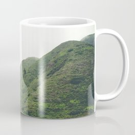 Green Giant | Peaceful Cloudy Nature Landscape Photography of California Hills Coffee Mug