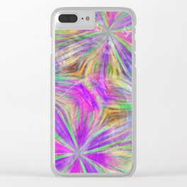 Party Lights Clear iPhone Case