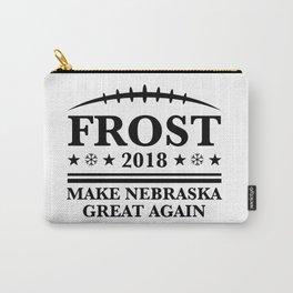 scott frost shirt - Frost '18 - Make Nebraska Great Again Carry-All Pouch