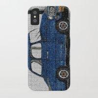 cuba iPhone & iPod Cases featuring Cuba Car by Sartoris ART
