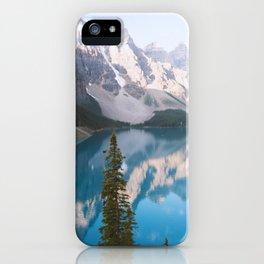 Lake Moraine Dos iPhone Case