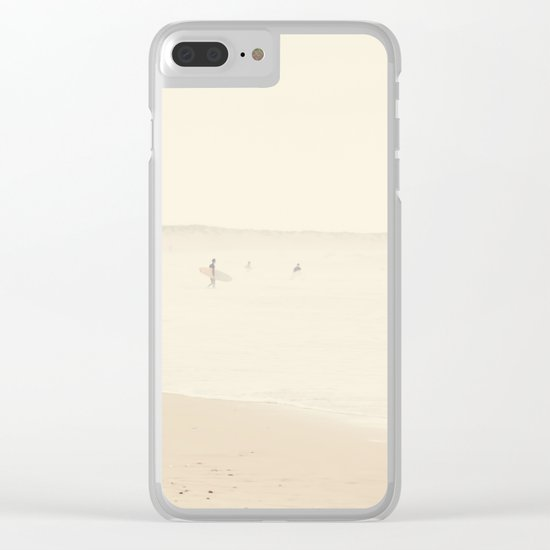 surfing life III Clear iPhone Case