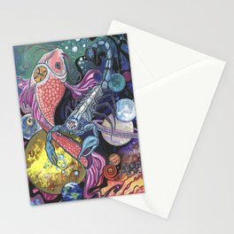 Venus Water Dance Stationery Cards