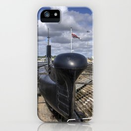 HMS Ocelot iPhone Case