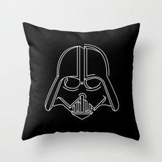 3d-art vader Throw Pillow