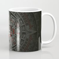 calendars Mugs featuring Stone of the Sun I. by Dr. Lukas Brezak