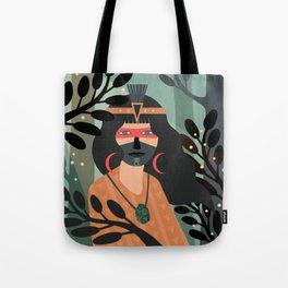 Jade Warrior Tote Bag