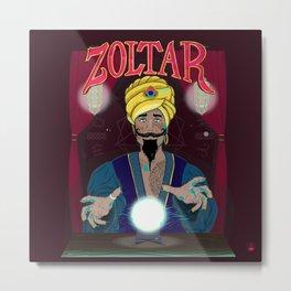 ZOLTAR Metal Print