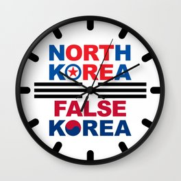 North Korea Wall Clock