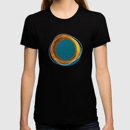 Solar Eclipse MCM Gold-Blue T-shirt