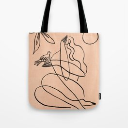 Summer Lines X| Tote Bag