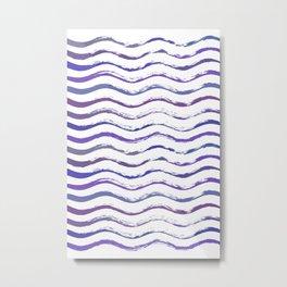 Ultraviolet waving Metal Print