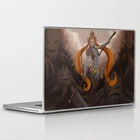 ellie goulding Laptop & iPad Skins featuring Ellie by Chelles