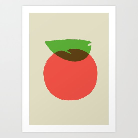 Apple 24 Art Print