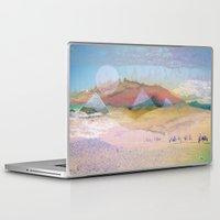 switzerland Laptop & iPad Skins featuring Egypt and Switzerland I by Moira Parton