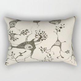 Neuron Cells Rectangular Pillow