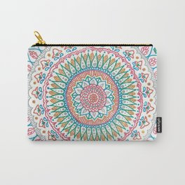 Color on White Carry-All Pouch