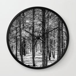 Forest Views Wall Clock