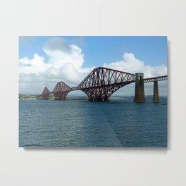 Forth Bridge, Scotland Metal Print