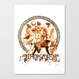 Timon of Athens by William Shakespeare Canvas Print