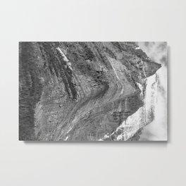 Going-to-the-Sun Mountain, Glacier National Park - Ansel Adams Metal Print