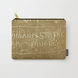 English Graffiti Carry-All Pouch
