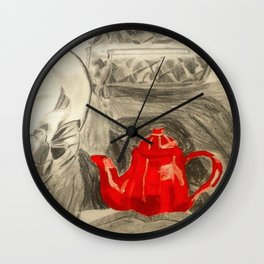 Afternoon Tea Wall Clock