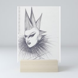 Sasha Velour Fan Art Mini Art Print