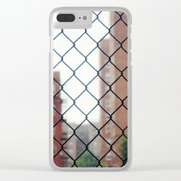 Seeing Through New York City Clear iPhone Case