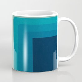 Retro 70s Color Lines Coffee Mug