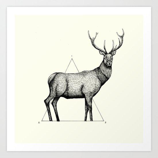 'Wildlife Analysis II' Art Print